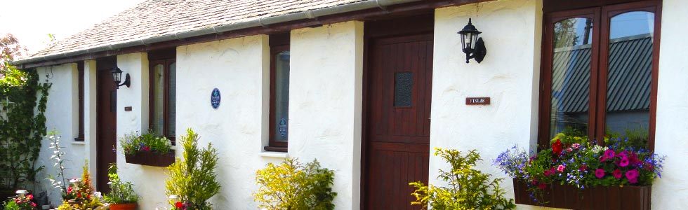 The two holiday cottages have been converted to a high standard