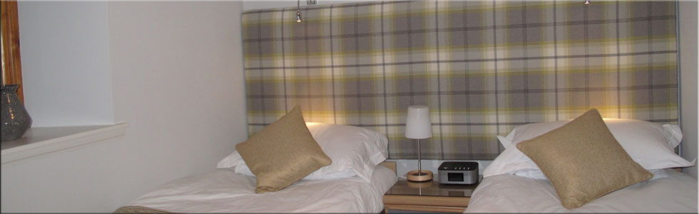 The Shegarton Farm cottages bedrooms are beautifully decorated and comfortable